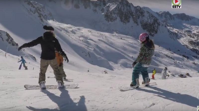 ANDORRA Surf TV: Coll Blanc Snowboard