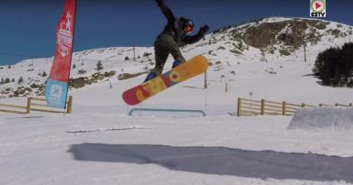 ANDORRA: Snowpark Freestyle Grau-Roig
