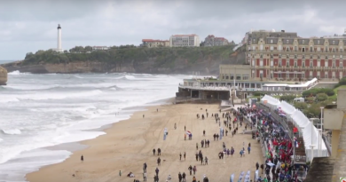 BIARRITZ:  2017 ISA World Surfing Games
