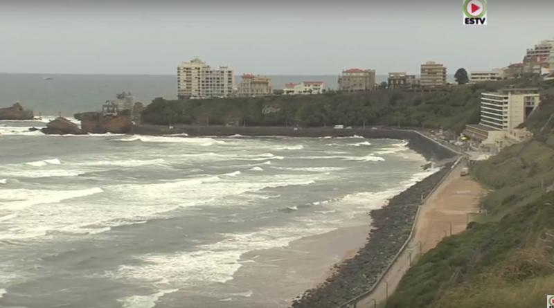 Cote des Basques en Colere - Biarritz Surf TV