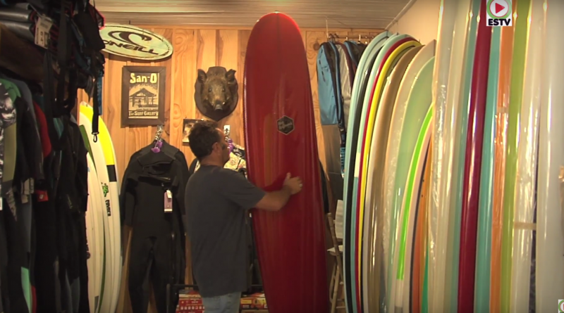 Les Longboards Californiens de Philippe - Montalivet Surf TV
