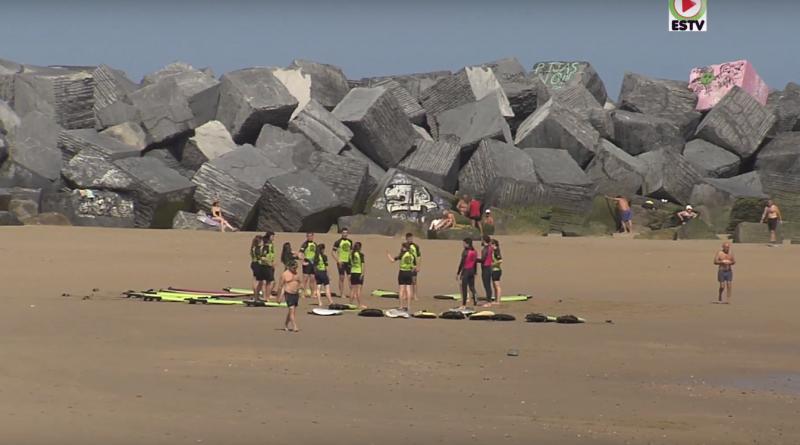 Donostia Surf Zurriola Beach - Euskadi Surf TV