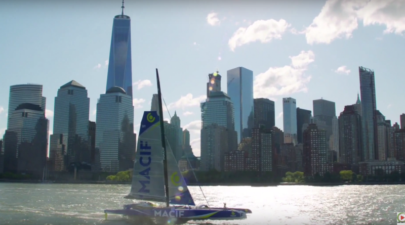 The Bridge 2017: Trimaran Macif - New-York ESTV