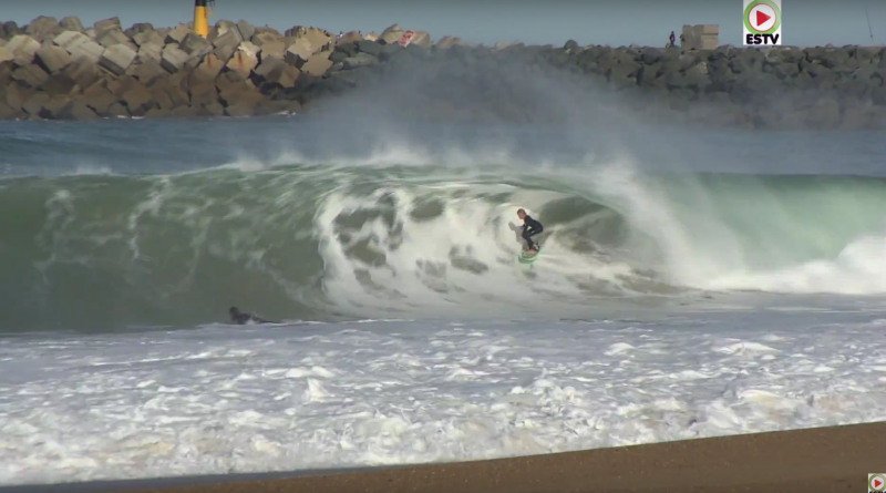 Anglet: Big Waves Cavaliers-Beach - Euskadi Surf TV