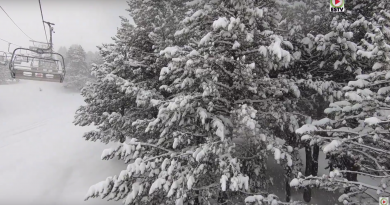 Forte Tempete de Neige - Andorra Snow TV