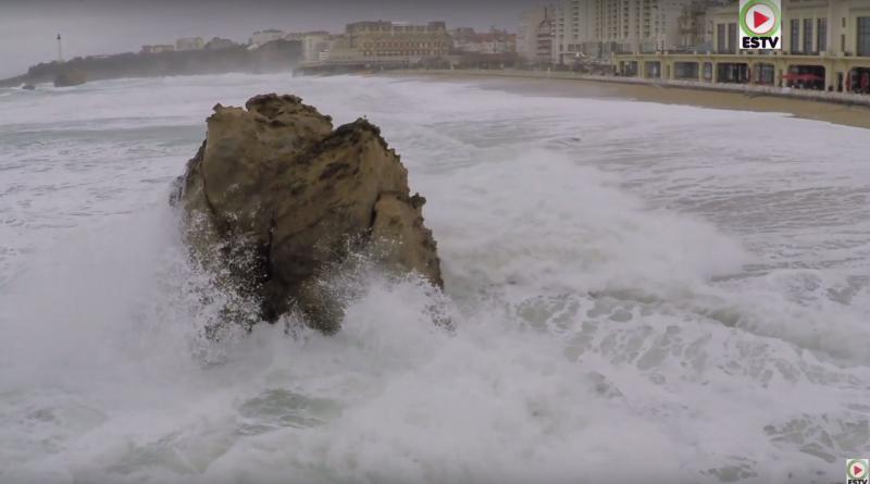 Biarritz: Vagues de Janvier 2018 - Euskadi Surf TV