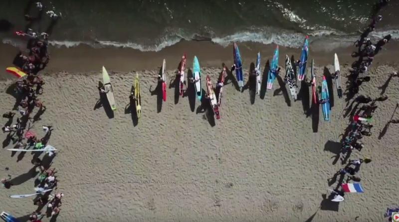 SUP: Championnats d'Europe Sardaigne - Euskadi Surf TV
