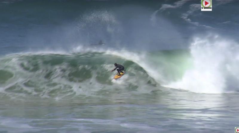 Quiberon: La Côte Sauvage en Feu - Euskadi Surf TV