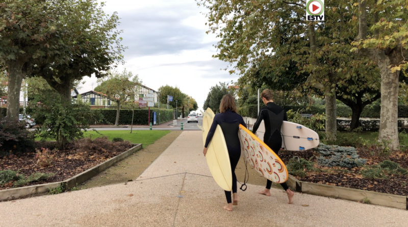 Hendaye - le calme avant la Toussaint - Euskadi Surf TV