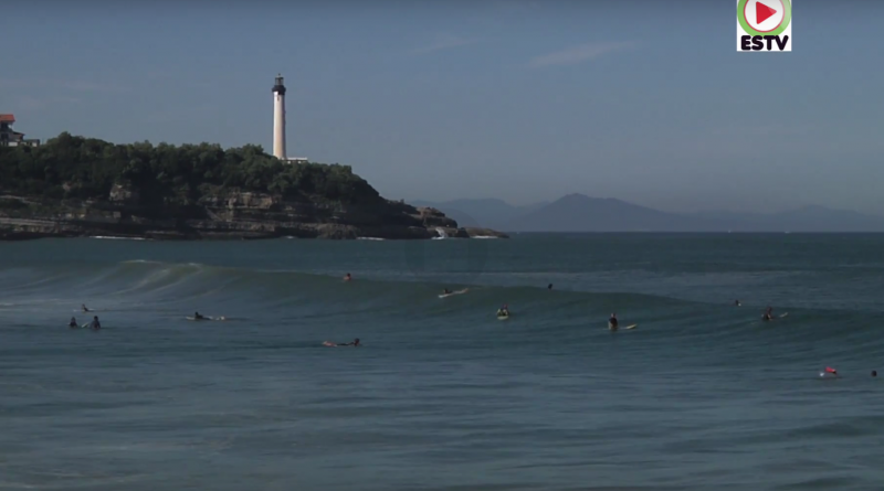 Anglet le bon spot de Surf - Euskadi Surf TV