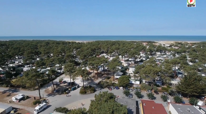 Le CHM Monta vu du ciel - Montalivet Surf TV