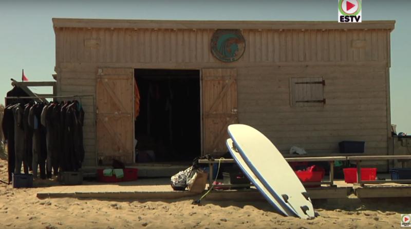 Naturisme: Ecole de Surf du CHM Monta - Montalivet Surf TV