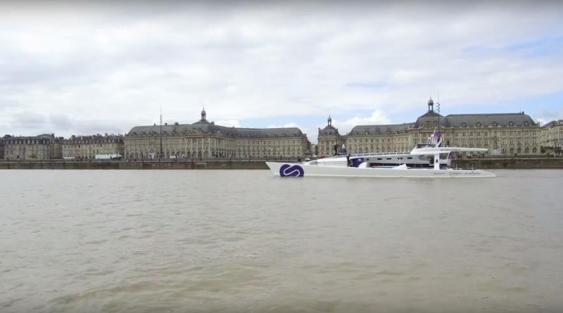 Bordeaux: Le navire Hydrogene - Bordeaux Surf TV