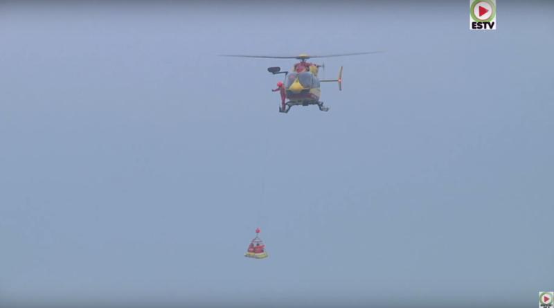 Les Lifeguards SNSM en Hélico - Montalivet Surf TV