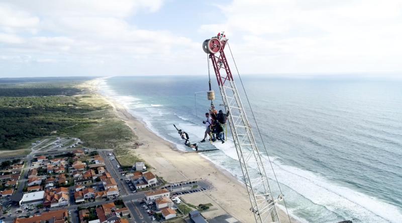 Extreme Parachutisme BASE Jump - Montalivet Surf TV
