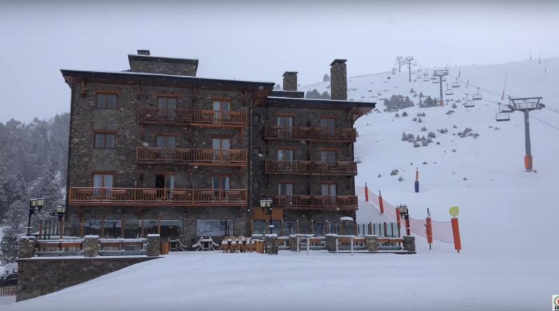 Andorre: Chute de Neige 4K - Andorra Snow TV