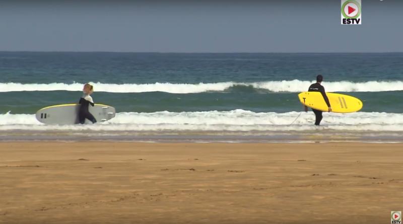 Zarautz: Little Waves - Euskadi Surf TV