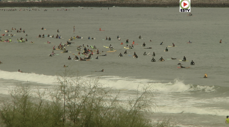 Hendaye- C'est la chine sur le spot - Euskadi Surf TV