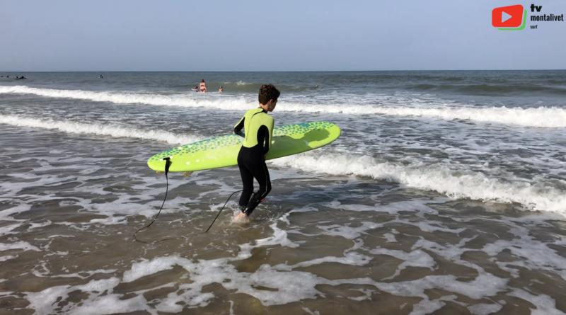 Montalivet | Surfing d'été à Monta - Montalivet Surf TV