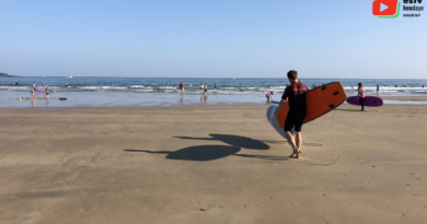 Hendaye | Matin d'Août à la plage - Euskadi Surf TV