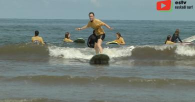 Hendaye | Piste verte du surfing - Euskadi surf TV